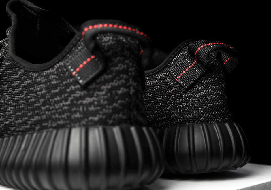 Yeezy 350 Boost v2 Black/Red February 11th Release