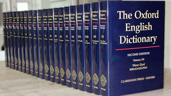 07/26/13 ... Oxford English Dictionary, the world's largest ...