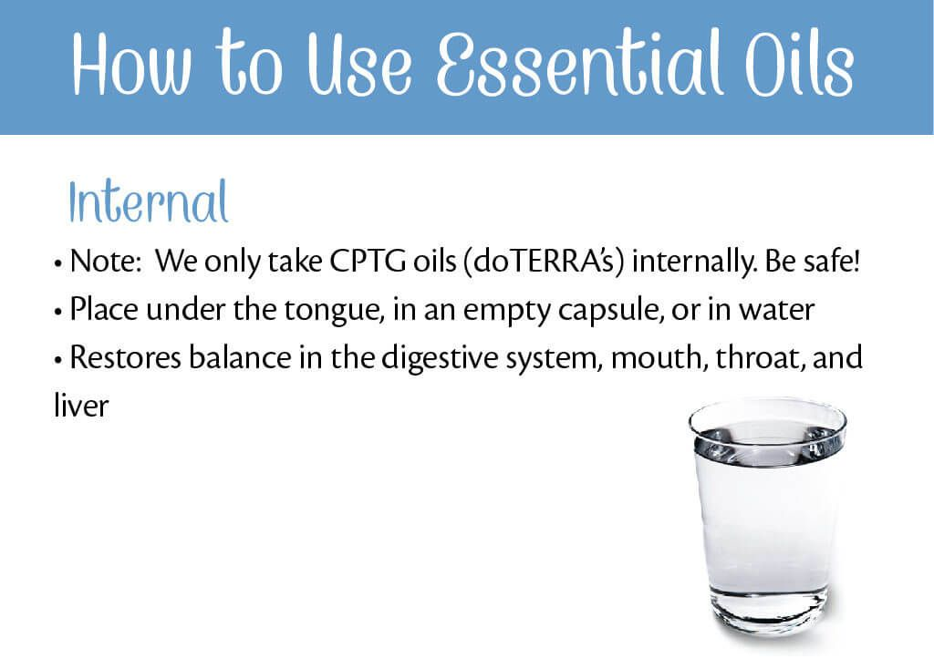 Essential Oils Uses Chart for Essential Oils and Their Uses