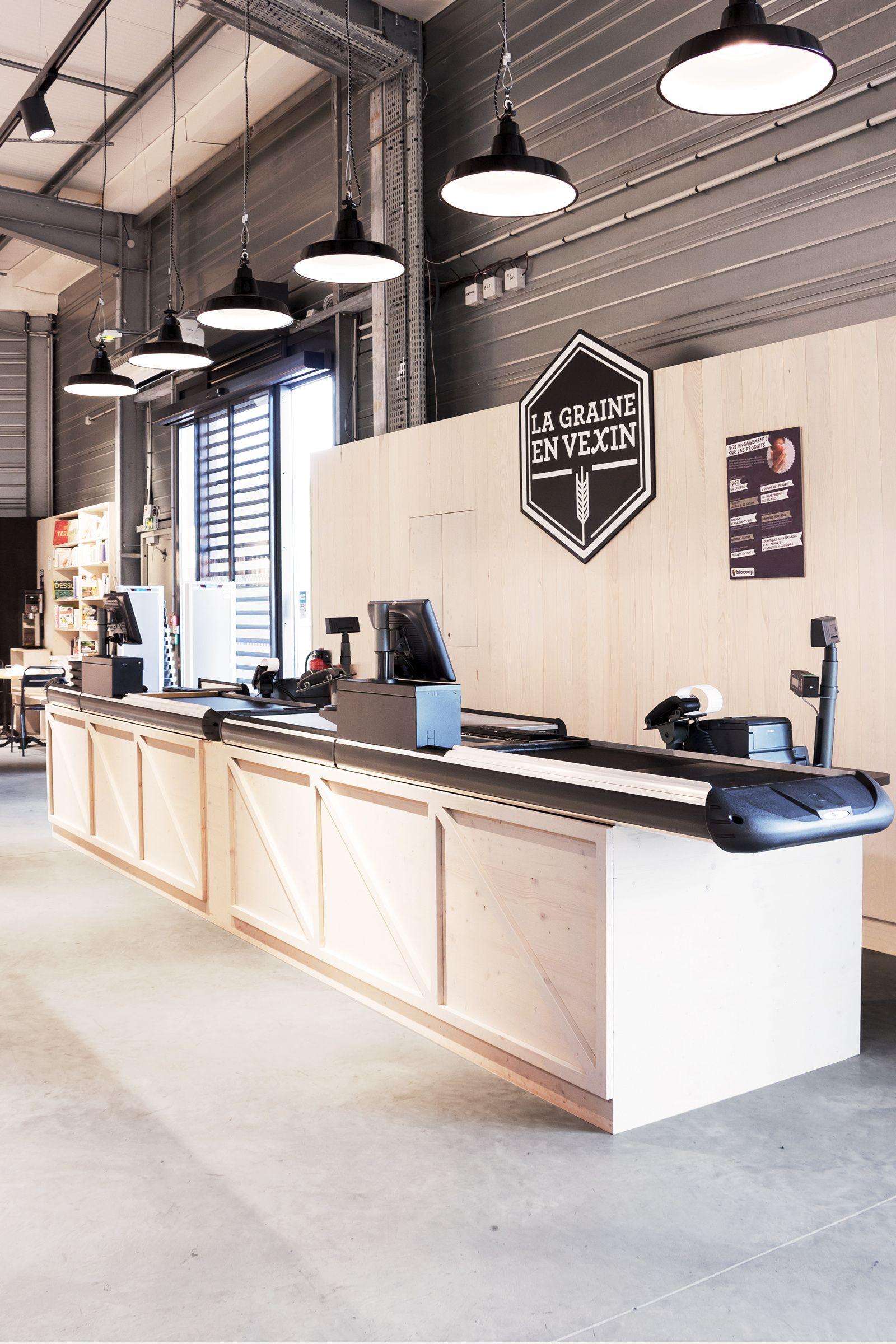 La Graine en Vexin Antoine MÈGE Intérieur de magasin