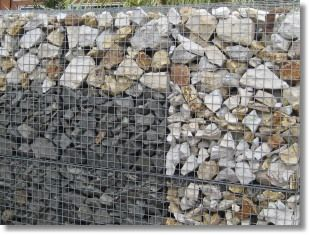 Multi texture Geotas Gabion Baskets