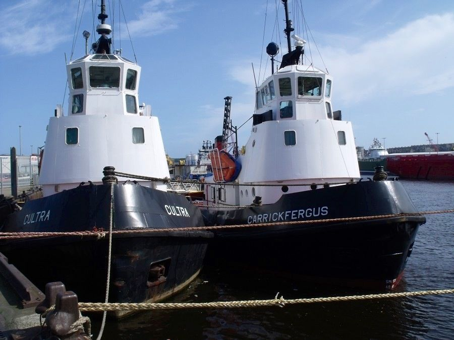 Tees Towing Company tugs, Skelton Cross and Greatham Cross