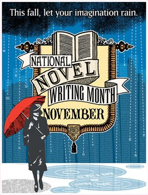 November is National Novel Writing Month! The challenge is to write a complete novel (50,000 words) in one month.