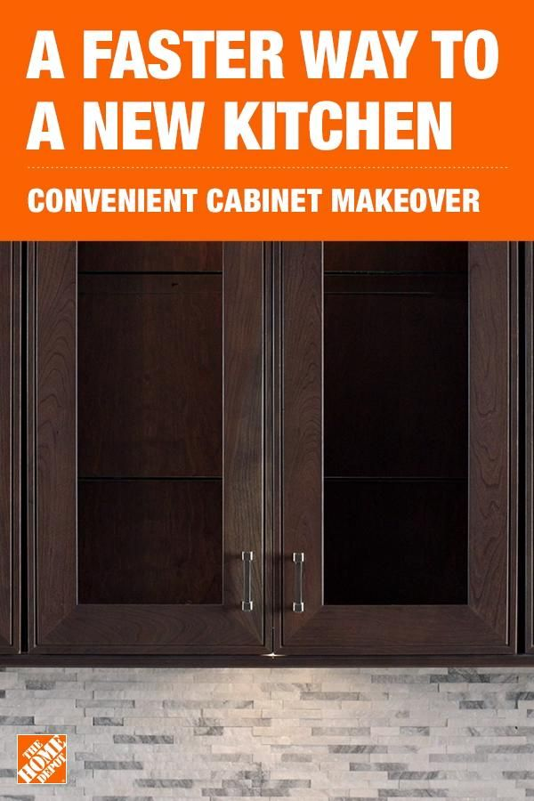 Give your kitchen a fresh new look with a Cabinet Makeover from The Home Depot.