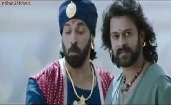 Bahubali 2 Best comedy scene Prabash and anushka1