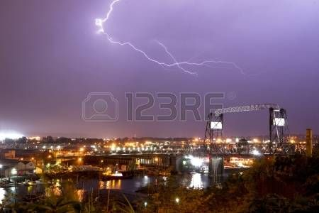 Spectacular storm shows it photo