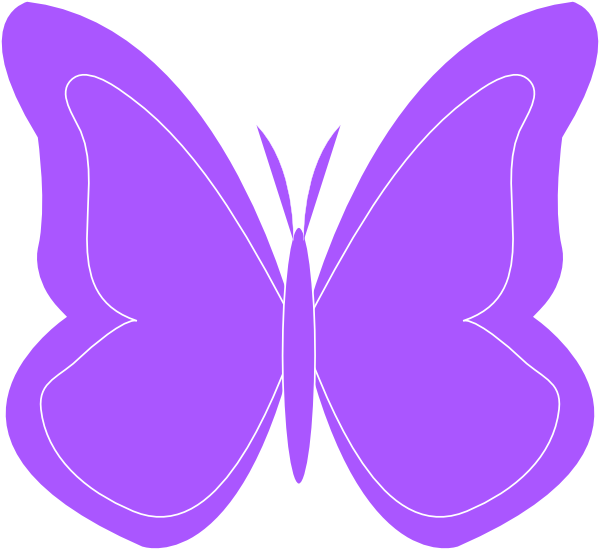 فراشة كرتون زرقاء بحث Google Rock Painting Pictures Clip Art Purple Butterfly