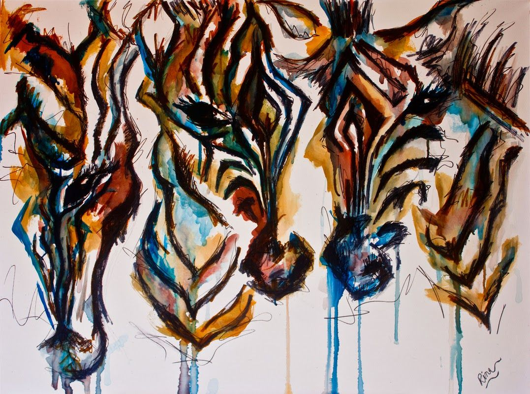 African Painting For Zebra Artwork With Images African
