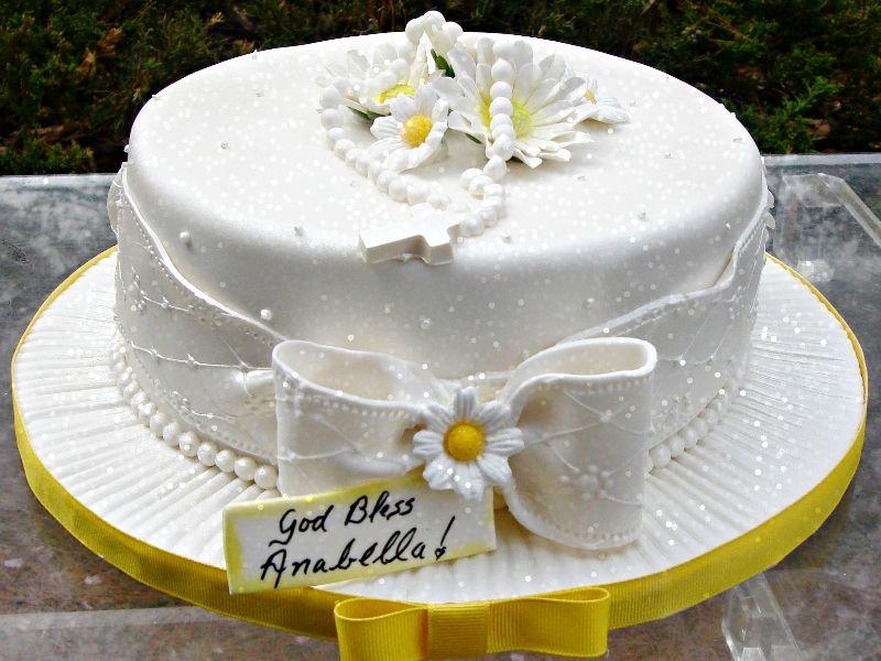Torte Cresima Decorate Idea D 39 Immagine Di Decorazione