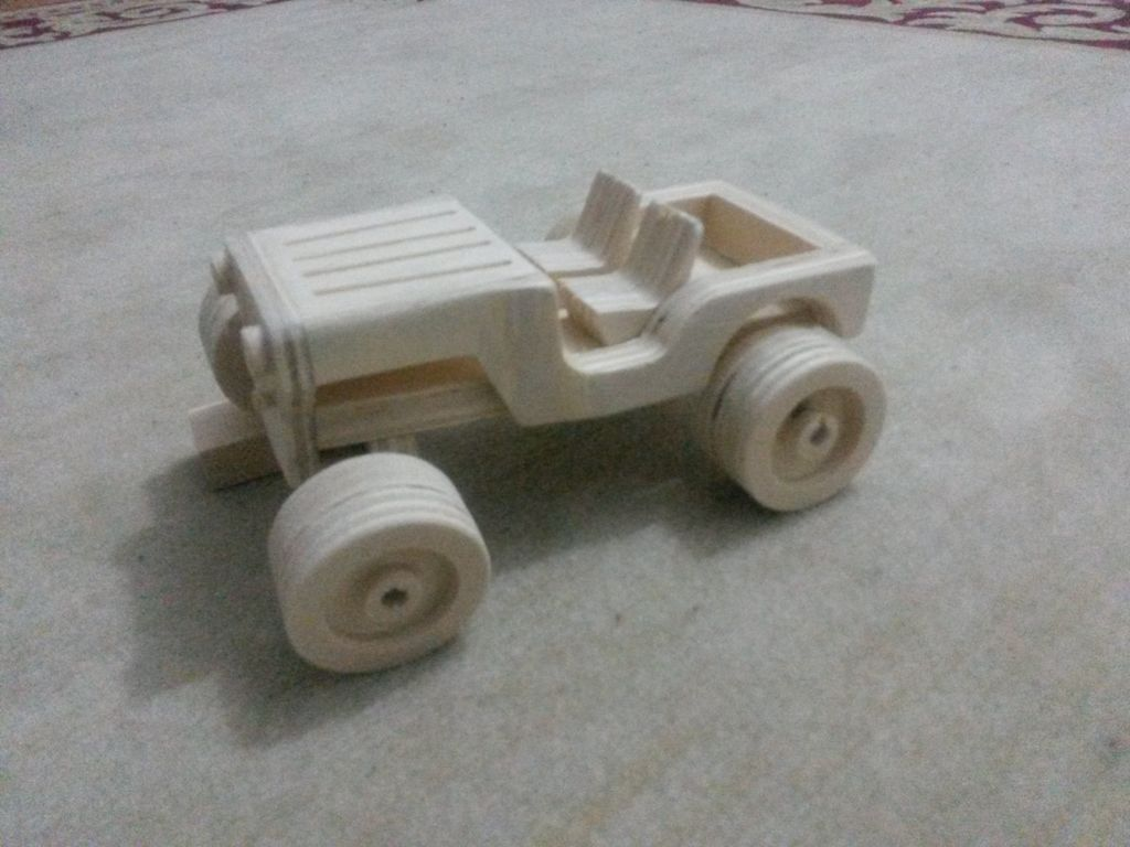 wooden toy jeep - classic | wooden toys diy | wooden toys