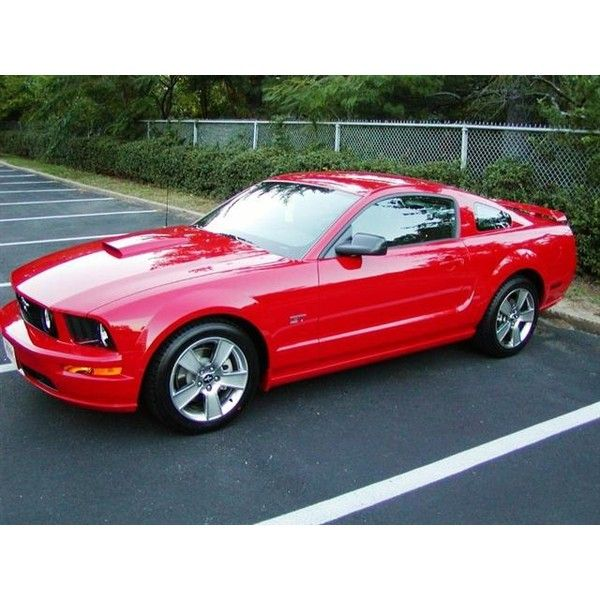 2007 Red Mustang Gt Bill Bailey 07 Liked On Polyvore Featuring Cars And Backgrounds