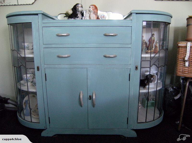 Bathroom Vanity Sale New Zealand solid rimu china cabinet, leadlight, nz made 1945 potential vanity