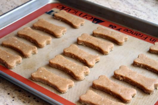 'Peanut Butter Dog Treats' from the Lilyshop Blog