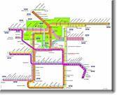 Zagreb Tram Map Zagreb Encyclopedia Map