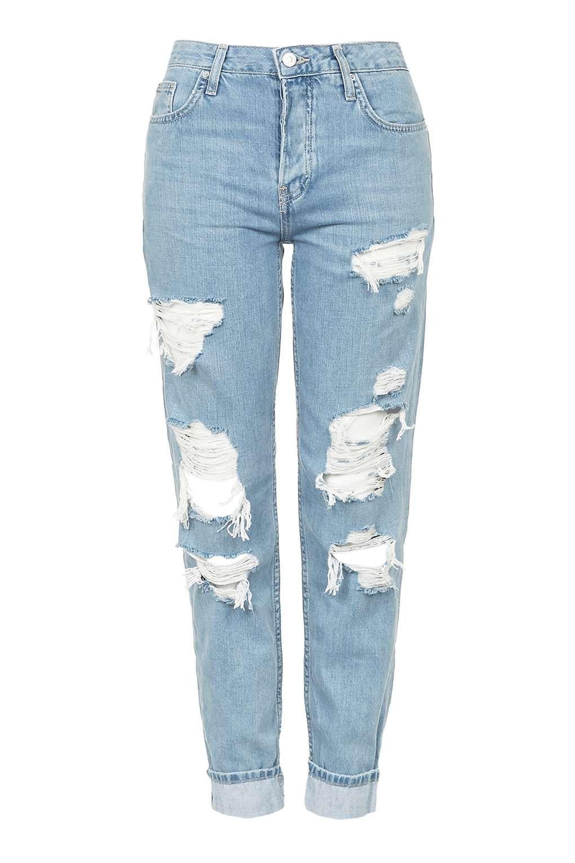 Skinny boyfriend jeans topshop