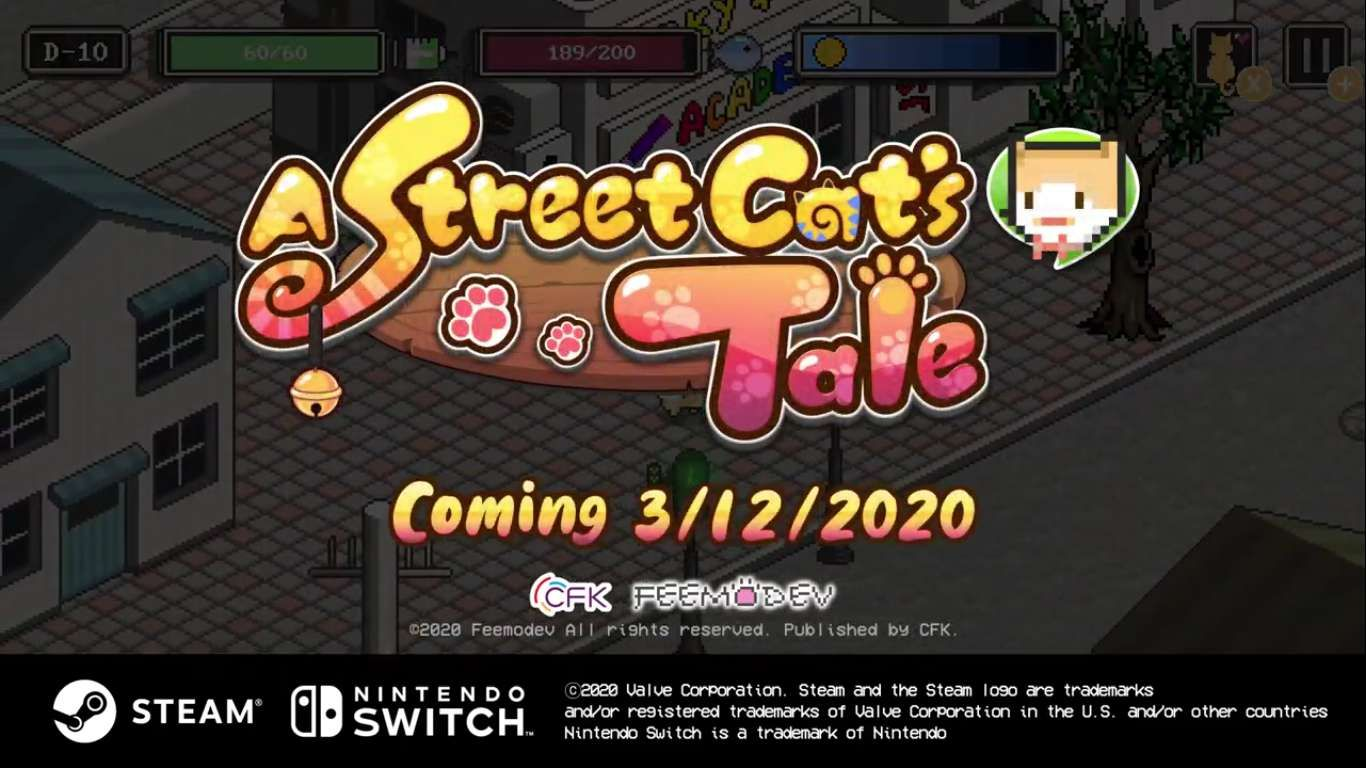 A Street Cat S Tale Puts You In The Place Of A Stray Kitten A Light Hearted Survival Game In A Bustling City Astreetcatstal In 2020 Survival Games Tales Cute Stories