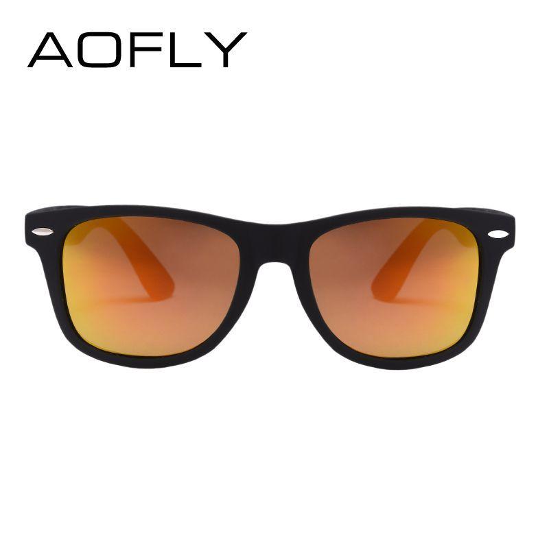 40761323f3 AOFLY Fashion Sunglasses Men Polarized Sunglasses Men Driving Mirrors  Coating Points Black Frame Eyewear Male Sun Glasses UV400 Who like it