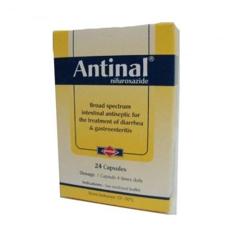 معلومات عن دواء أنتينال Antinal Antiseptic Capsule Treatment