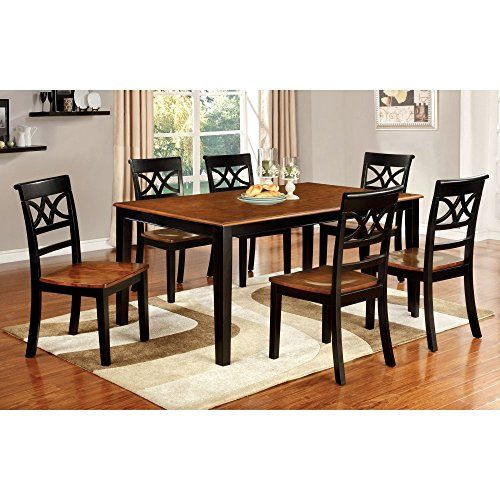 Furniture Of America Seaberg Country Rectangular Dining Table Fair Sale Dining Room Chairs Decorating Design