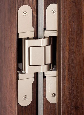 Hardware for secret hidden door tectus te 541 3d fvz - Hidden hinges for exterior doors ...