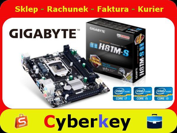 Gigabyte Ga H81m S S1150 H81 2ddr3 Usb3 Glan Uatx 5290200231 Oficjalne Archiwum Allegro Gigabyte Graphic Card Geek Tech