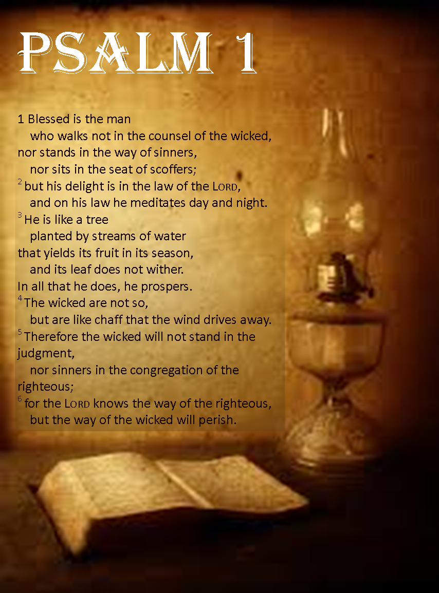 Image result for psalm 1