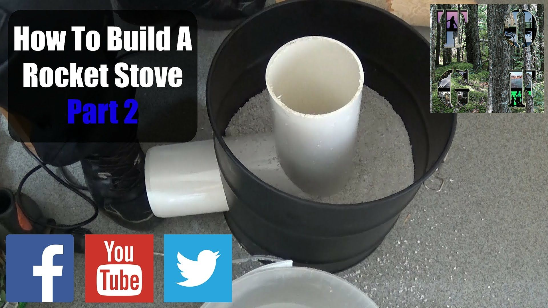 how to build a rocket stove part 2 easy step by step guide