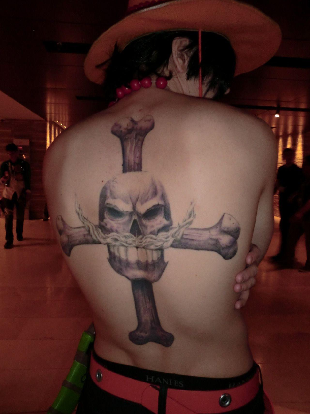 Ace Tat Tatuagens De Anime Tatuagem One Piece Tatuagem