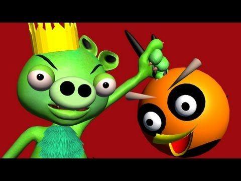 PIGGY-MONSTERS REVENGE - an Angry Birds Parody ♫ 3D