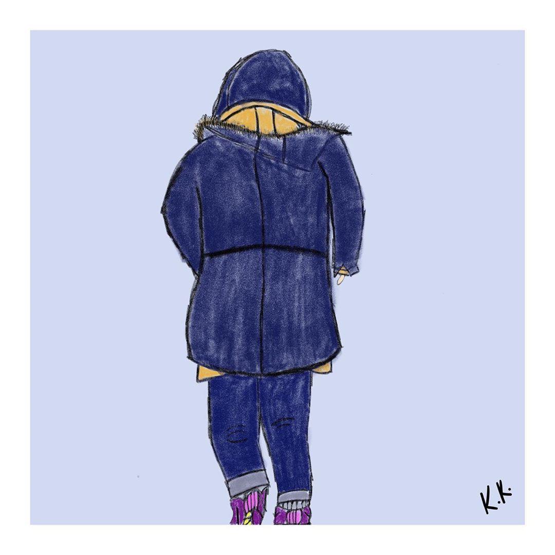 Kepcekalem Muzikali On Instagram Deli Divane Buray 18 Gun Day18of365 Art Challenge 365 Day Challenge Winter Jackets