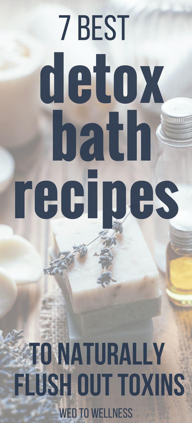 pics Best detox bath recipes