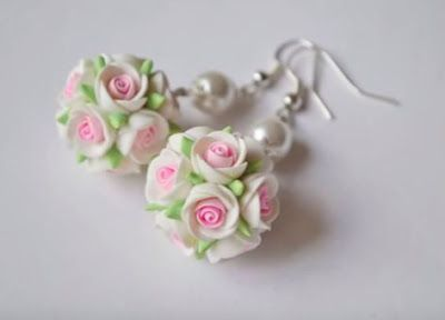 3550d8013 Pretty Polymer Clay Flower Jewelry Tutorials by Irina Ivanitskaya ~ The  Beading Gem's Journal