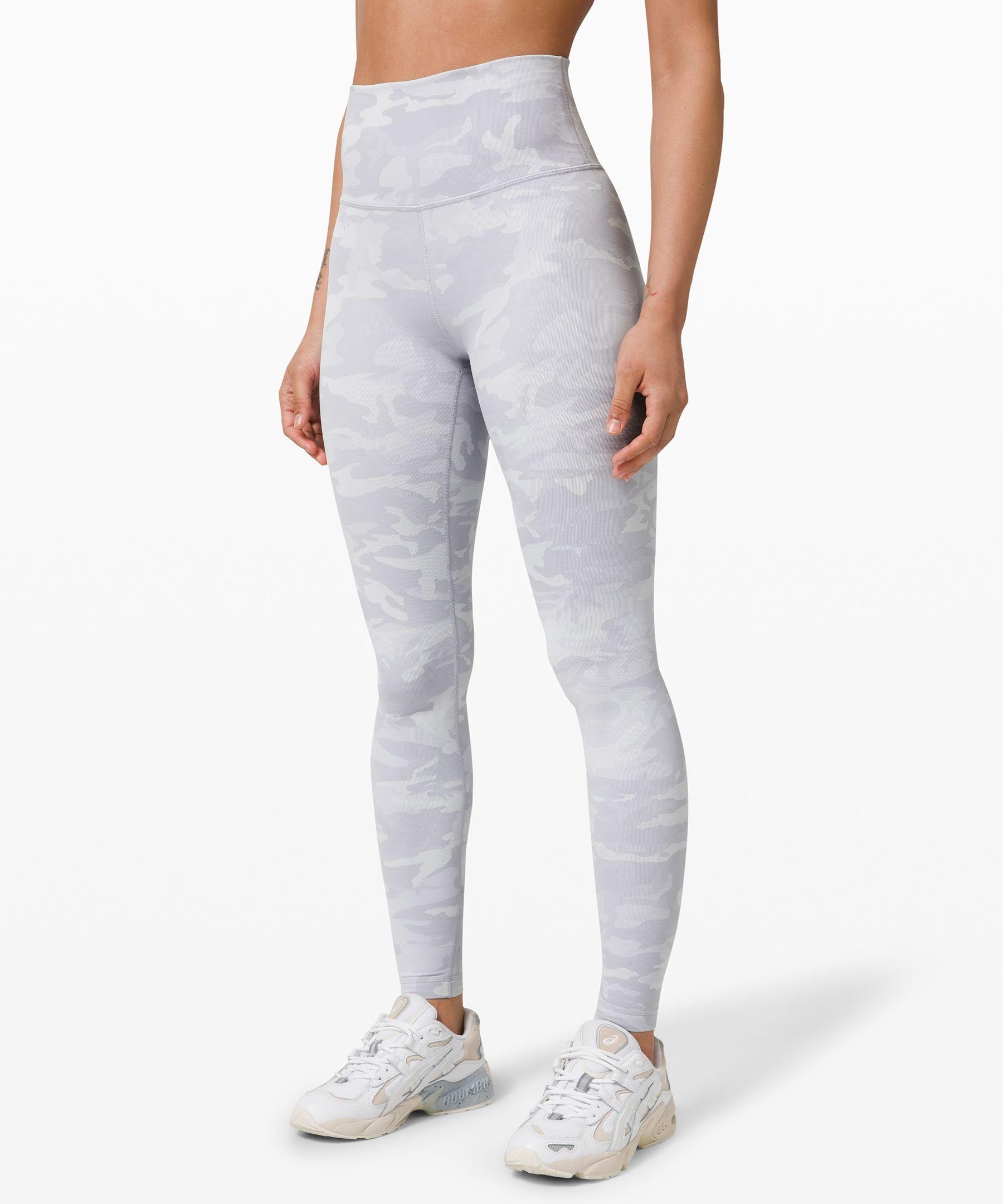Lululemon Women S Wunder Under High Rise Legging 28 Luxtreme Incognito Camo Jacquard Alpine White Starlight In 2020 Pants For Women Women S Leggings Lululemon Women