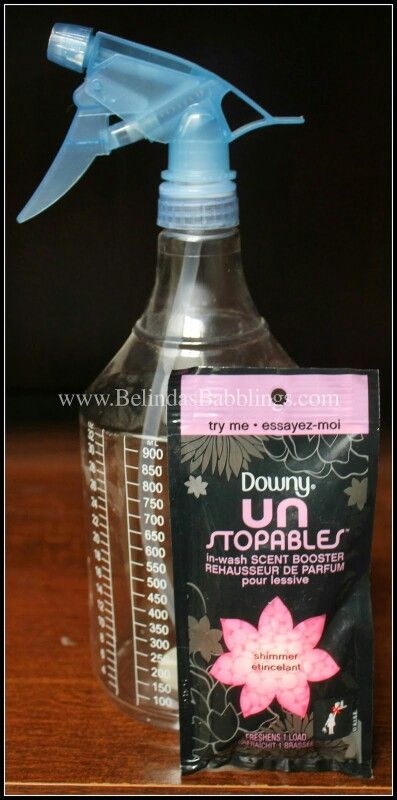 Easy Diy Downy Unstopables Air Freshener For Car Or Home Diy Air