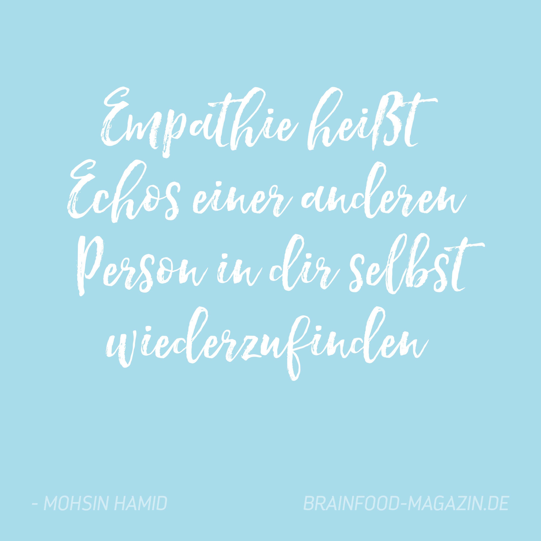 Menschen empathielose Die Liebe