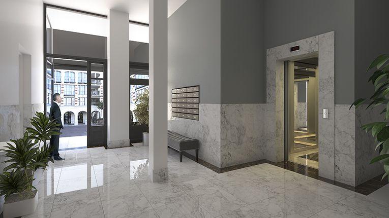 hall d\'entrée immeuble et sas | Gabriel Guisen - Design & Graphisme ...