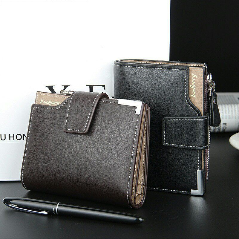 037a856e41 Men wallet Coin Short section portfolio and zipper purse - ihappyshop