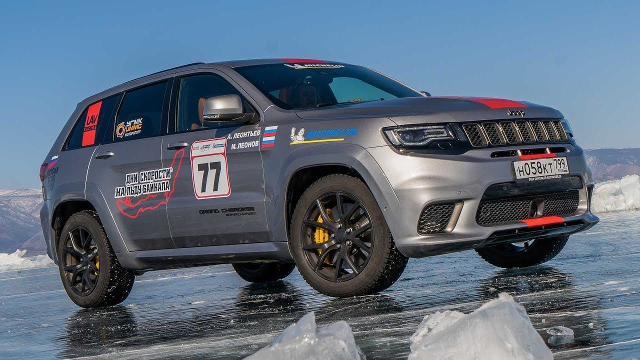 The Jeep Grand Cherokee Trackhawk Recently Set The Record For The