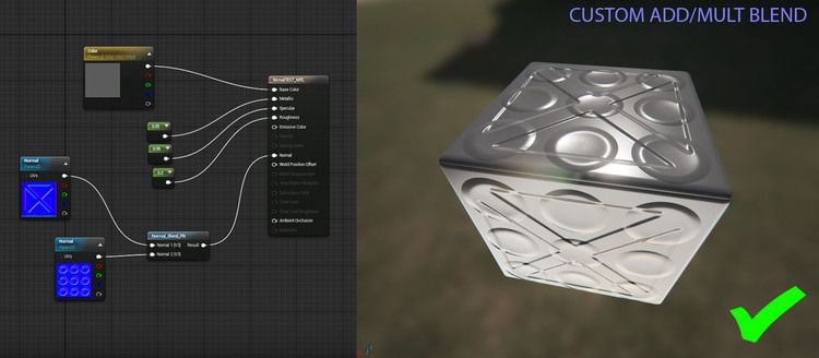 Normal Map Blending In Unreal Engine 4 Unreal Engine Normal Map