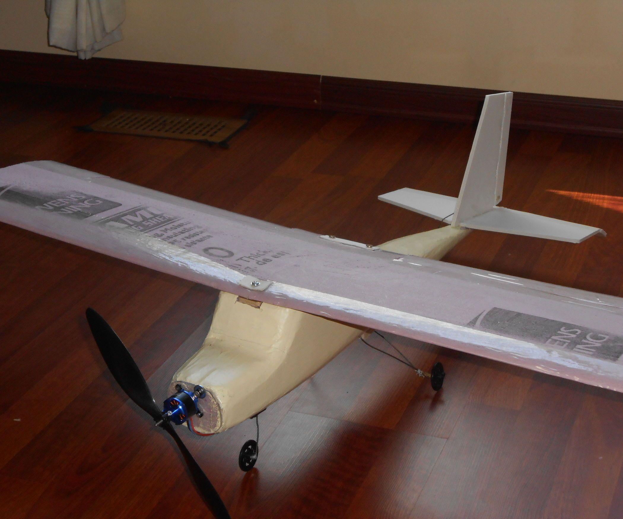 Foam Rc Plane Building Guide Airplane