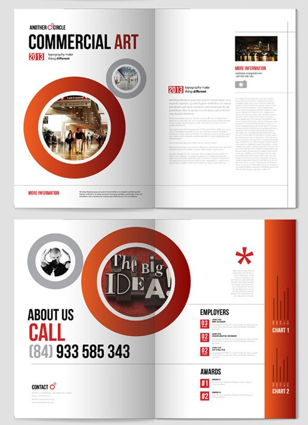 BeautifulRedBrochureDesignideas Design Brochure Layout - Beautiful brochure templates