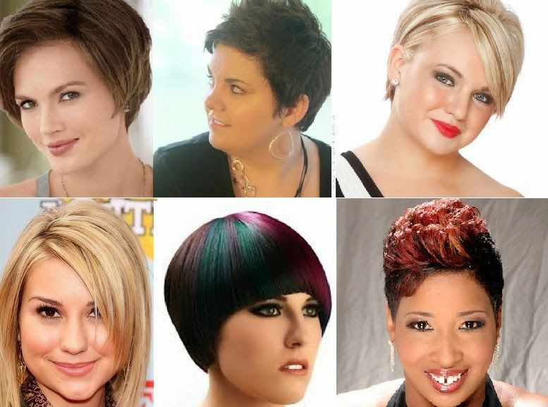 Estilos De Peinados Cortos Para Gorditas Pelo Corto Para Gorditas Peinados Cortos Peinados