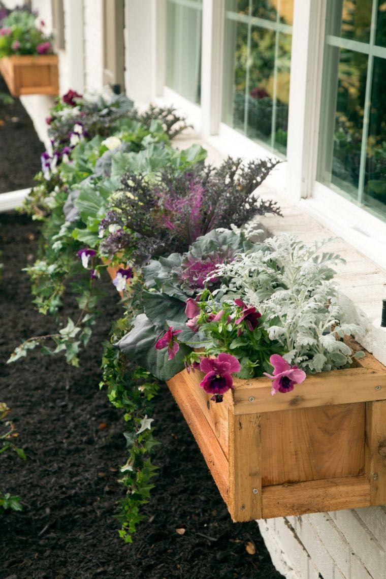 deco-maison-automne-fleurs-baque   Drying herbs!!   Jardinières aux ...