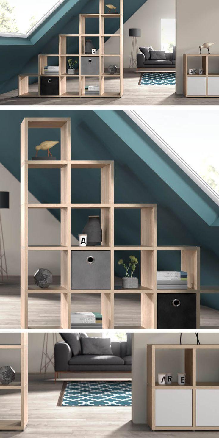 Raumteiler Regale – Ideen fürs Wohnzimmer und Arbeitszimmer  Room