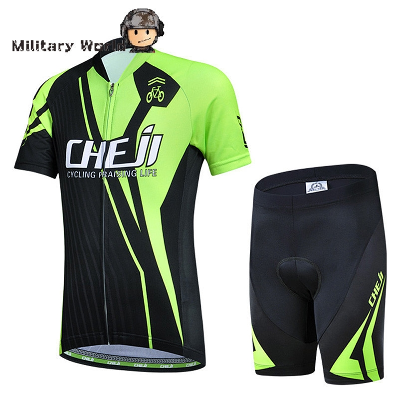 ... wear wholesale directly from China children swim wear Suppliers  CHEJI  Cycling Wear Ropa Ciclismo Boys and Girls Bike Short Sleeve Clothing Set  Bicycle ... c1e44deaa