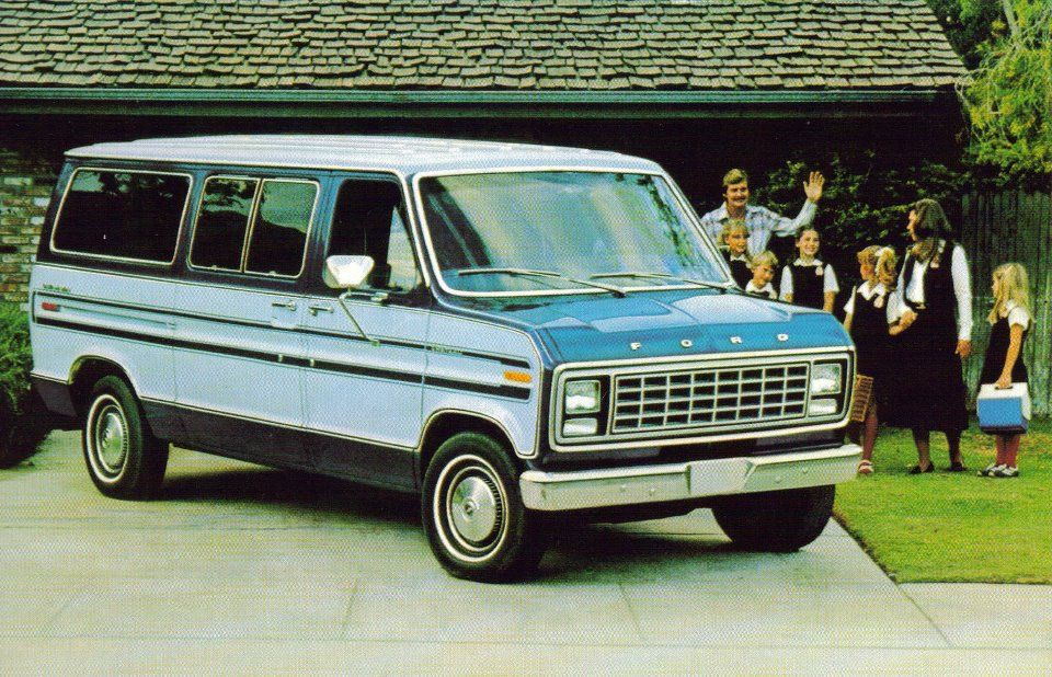 1980 Ford Club Wagon Wagon Ford Ford Van
