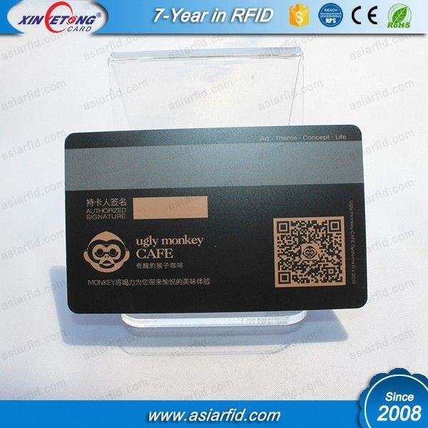 Cool Design CMYK Printing HiCo \/ LoCo Magnetic stripe Plastic Card - membership cards design