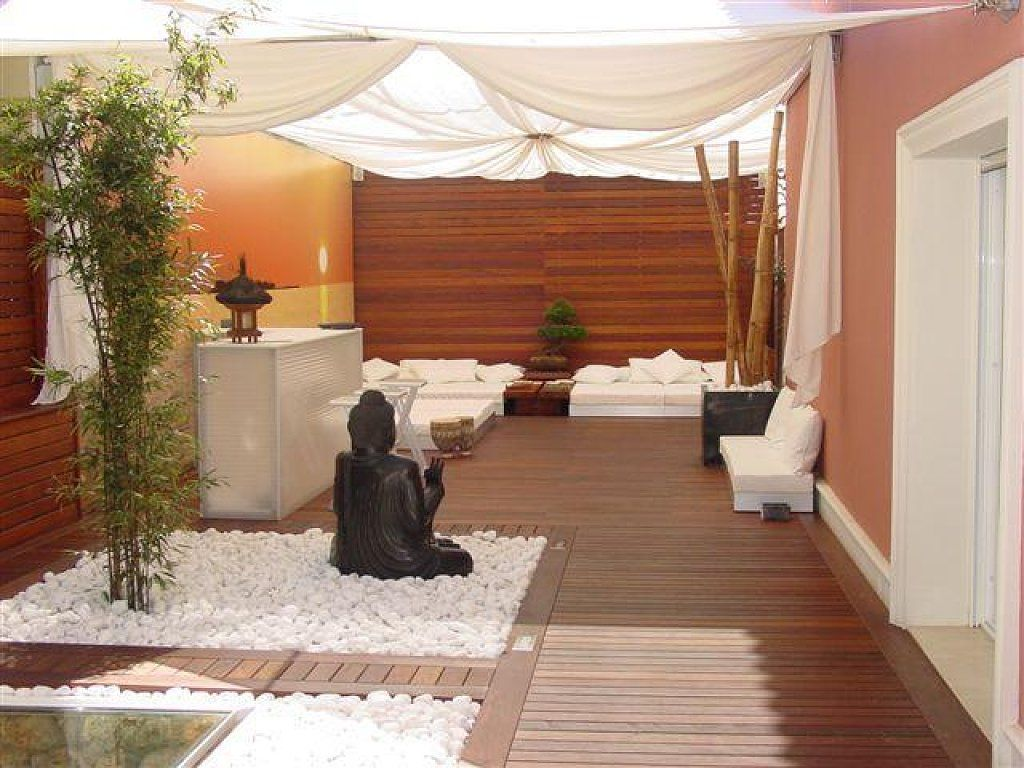 El post de las terrazas estilo rabe o chill out las for Decoracion jardin oriental