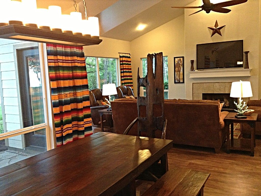 House vacation rental in pottsboro water front house lake