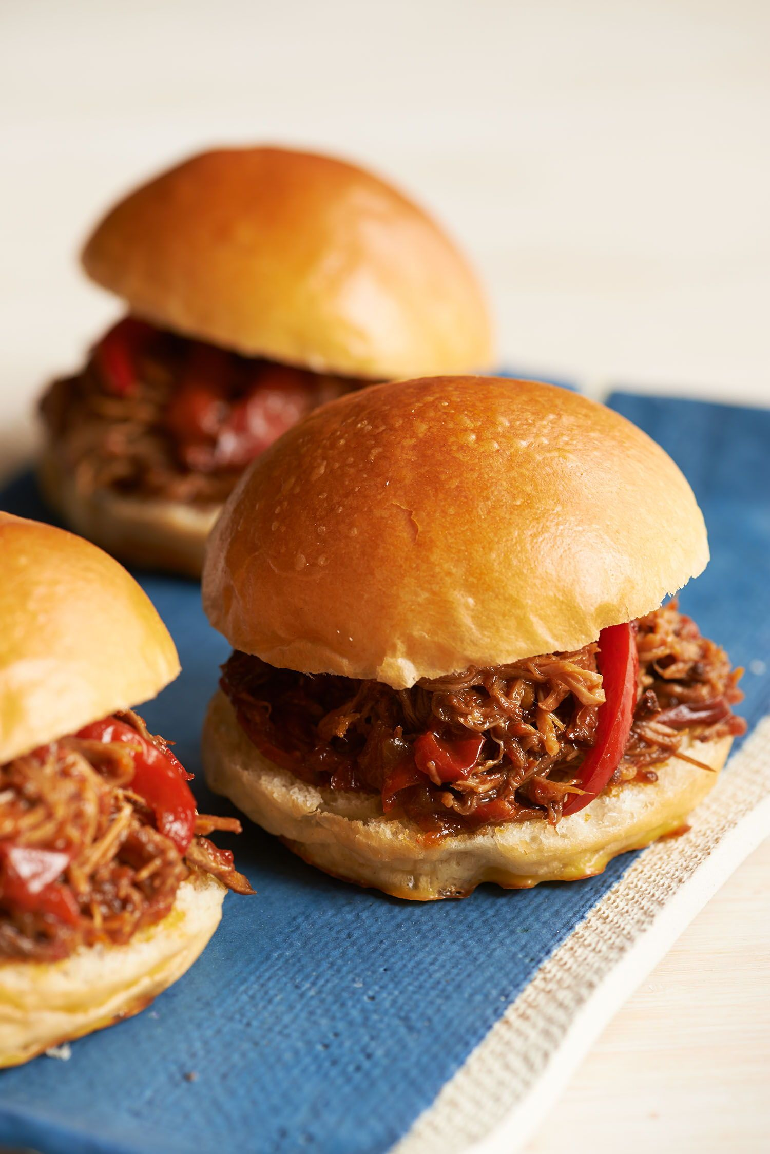 Slow Cooker Sandwiches: BBQ Beef Brisket & More images